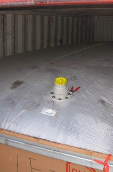 Flexi Tanks to Load out Vegetable Oil